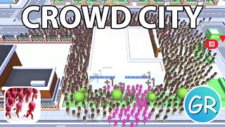 Crowd City Gameplay  Playing 1 Round With Each Skin Part 4