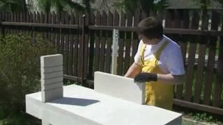KaminTeplok(Как просто и быстро сделать себе мангал на даче из Итонг! строительство дома газобетон Итонг., 2010-02-19T15:40:39.000Z)