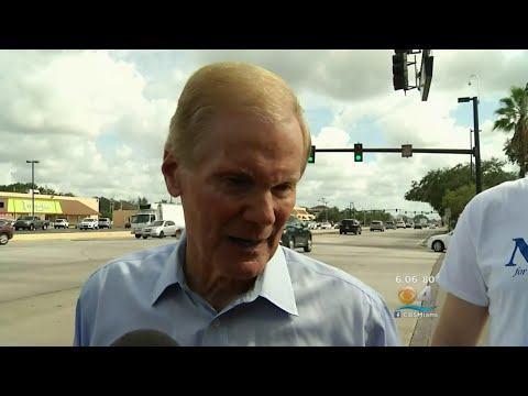 Bill Nelson Hitting The Pavement On Eve Of Election Day