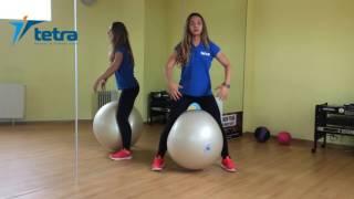 Второй видео урок с фитболом от Дианы Долговой