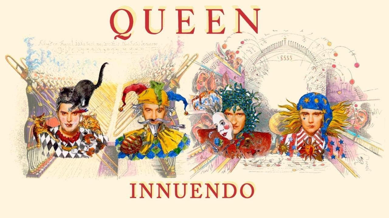 Image result for queen album innuendo