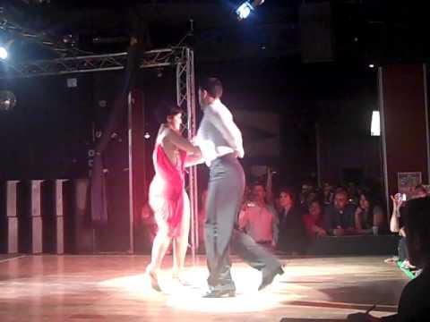 Del Dominguez & Laura Flores/Latin Street Salsa Open Dance Contest 2011 2nd Round