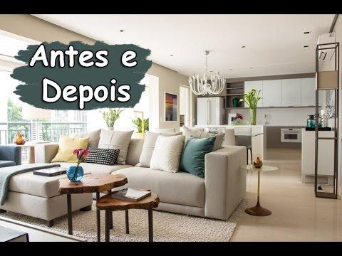 Decora o de interiores antes e depois apartamento itaim for Interiores de apartamentos