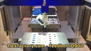 flexfactory feedbot iQ900- Double gripper