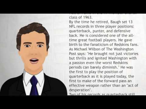 Sammy Baugh - Wiki Videos
