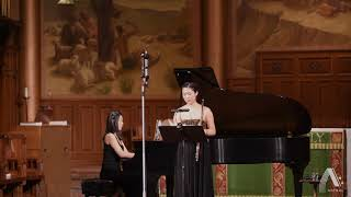 Annie Wu, flute \ Debussy - Prelude to the Afternoon of a Faun for flute and piano