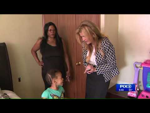 NYCHA mother pushing for repairs to her apartment