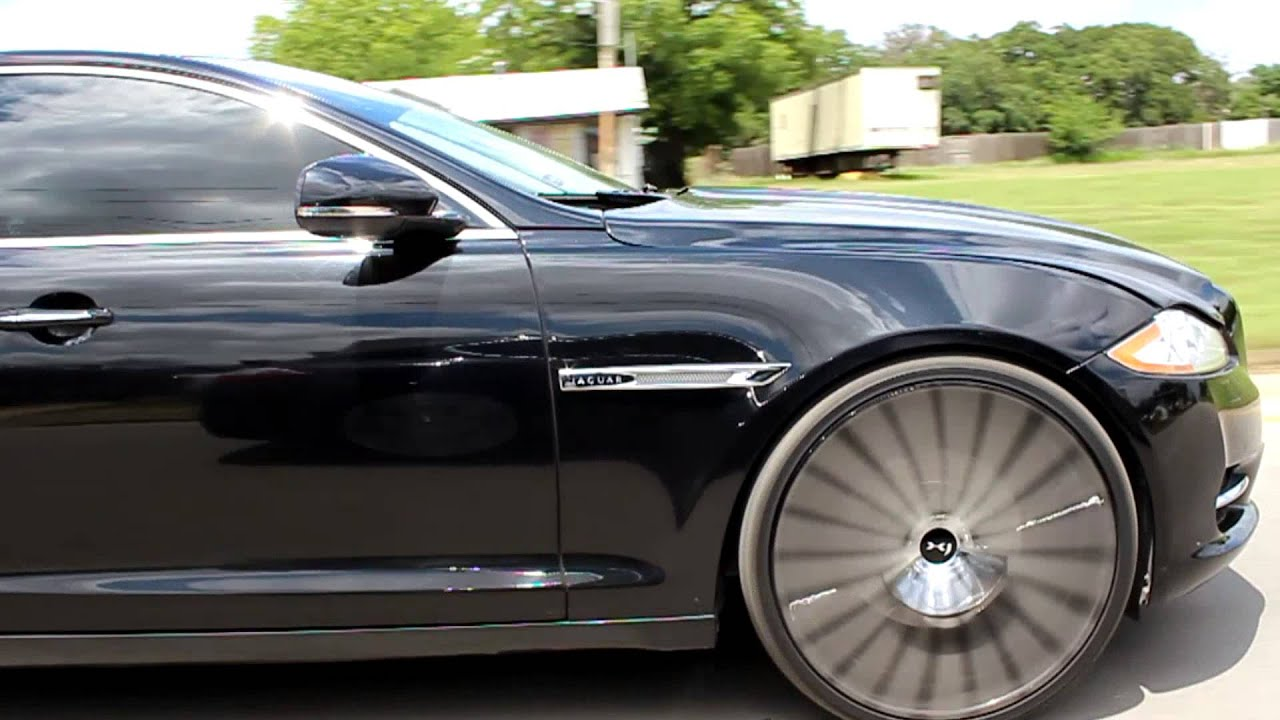 2012 Jaguar Xjl On 24 Quot Concave Lexani With Custom Center