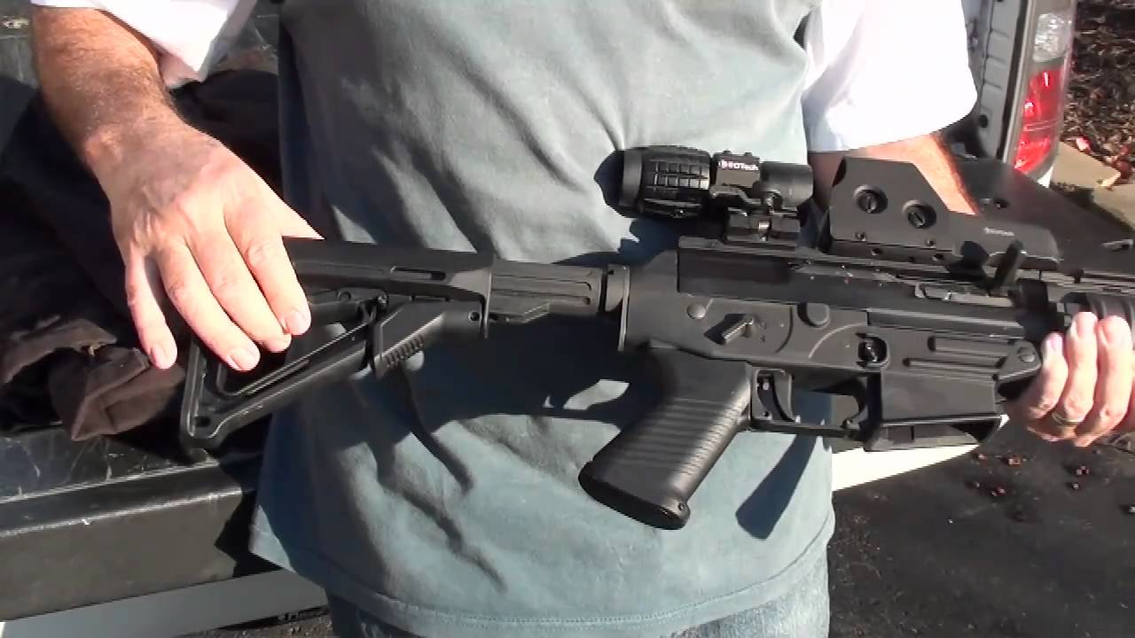 Sig Sauer 556 Swat With Eotech 3x Magnifier Youtube