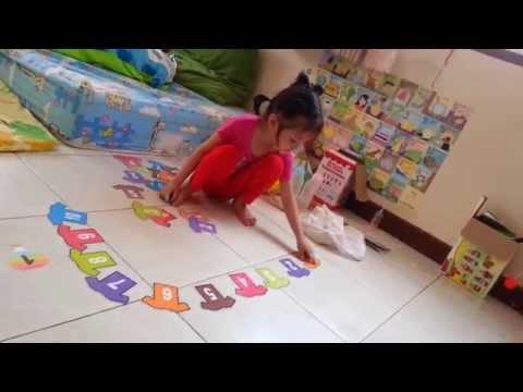 สื่อการสอนปฐมวัย :: ฝึกนับเลขเรียงตามลำดับตัวเลข 1-10