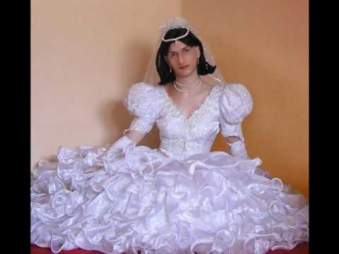 bride crossdressing wedding dress