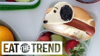 How to Make a Snoopy Lunch Box | Eat the Trend