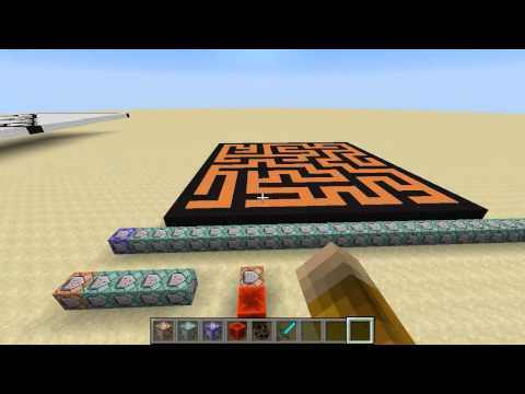Learning Minecraft Command Block Programming, Part 8 - Random mazes