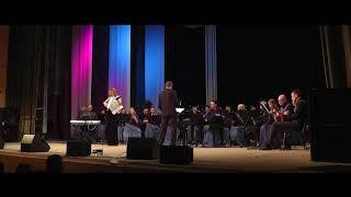 Ватра - Мария Селезнева - аккордеон - Русский оркестр дир.Василий Кормишин