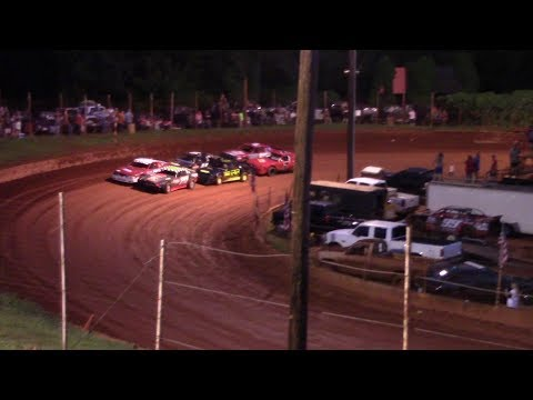 Winder Barrow Speedway Stock Eight Cylinders Feature Race 8/10/19