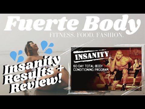 MY INSANITY WORKOUT RESULTS/REVIEW!