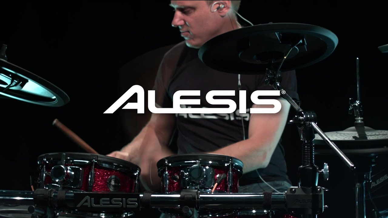 alesis strike pro electronic drum kit overview gear4music youtube. Black Bedroom Furniture Sets. Home Design Ideas
