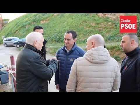 El PSOE de Ceuta denuncia la falta de aparcamiento en Villajovita