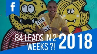 How I Got 84 Leads For My 1st Social Media Client In 2 Weeks (Step by Step FB Ad)