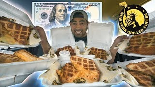 $100 of NY Grilled Cheese | Menu Challenge