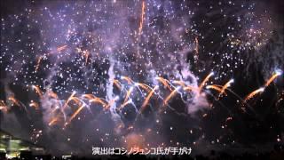 【ブラジル】日伯外交120周年「花火祭り」2015年9月12日