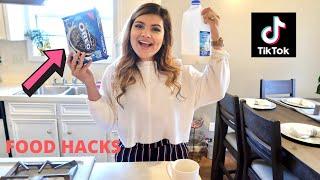 We Tested Viral TikTok FOOD HACKS... *Delicious*
