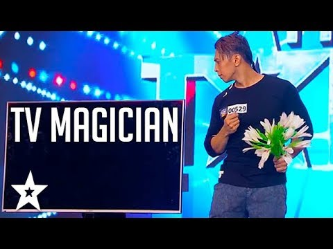 ILLUSIONIST Performs TV Magic on Pilipinas Got Talent 2018 | Got Talent Global