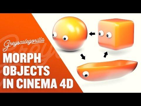 Morph In Cinema 4D Using the Pose Morph Tag