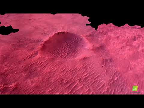 Pix4D - Mars landing sequence captured by down looking camera (NASA raw images from Perseverance)