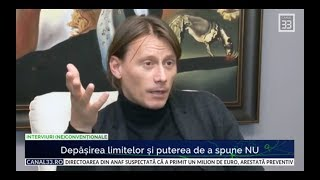 Marius Manole Depasirea limitelor si puterea de a spune NU - interviu Cristina Topescu