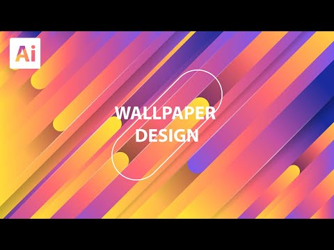 Colorful Wallpaer Design In Adobe Illustrator #2 thumbnail