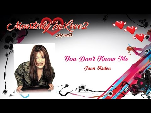 Jann Arden - You Don't Know Me (2002)