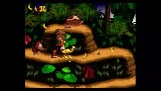 Donkey Kong Country Super Nintendo- Let's Play