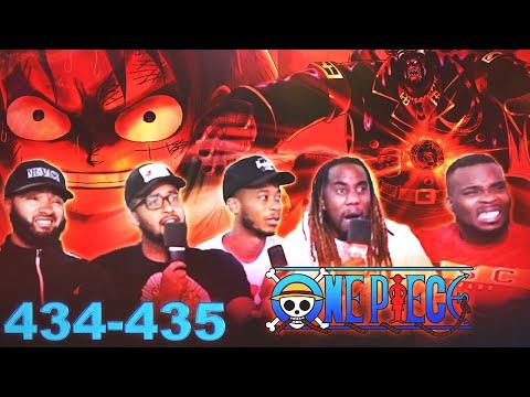 LUFFY VS MAGELLAN! One Piece Ep 434/435 Reaction