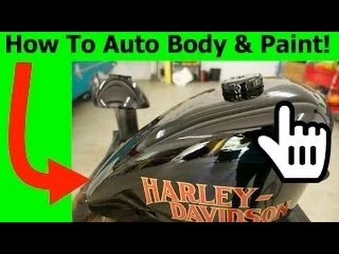 learn how to auto body paint cars and bikes youtube