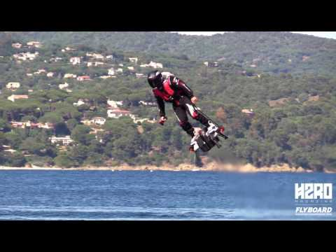 Flyboard Air Is Real Zapata Racing Jet Powered Hoverboard