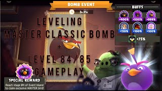 Angry Birds Evolution: Leveling Master Classic Bomb + Level 84/85 Gameplay