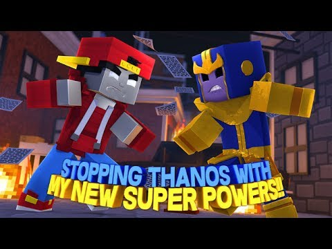 minecraft-adventure---stopping-thanos-with-my-new-super-powers!!