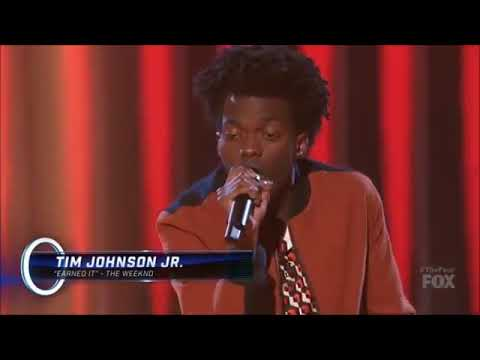Tim Johnson jr (Earned it By THE WEEKND)  FROM THE FOUR