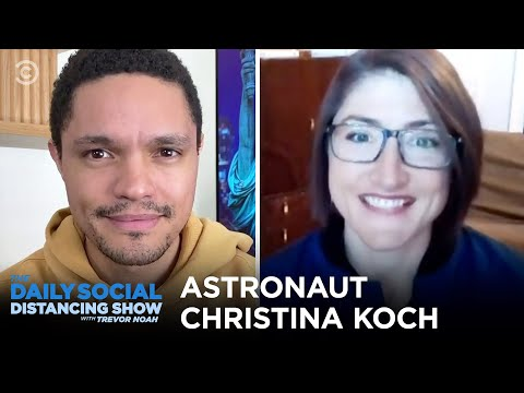 Christina Koch - Coming Back to Earth After 11 Months | The Daily Social Distancing Show