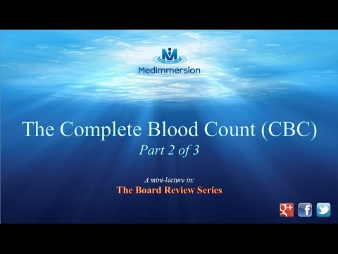 Complete Blood Count Pt2