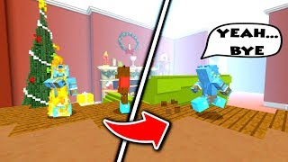 Being a MASSIVE CHEAT in Minecraft Hide & Seek!! - (Christmas Themed)