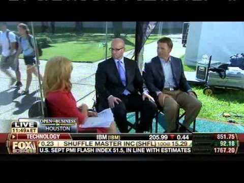 Live from Rice: Fox Business Network's Melissa Francis interview on Houston marketplace