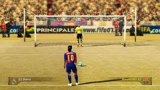 Penalty Kicks From FIFA 94 to 16