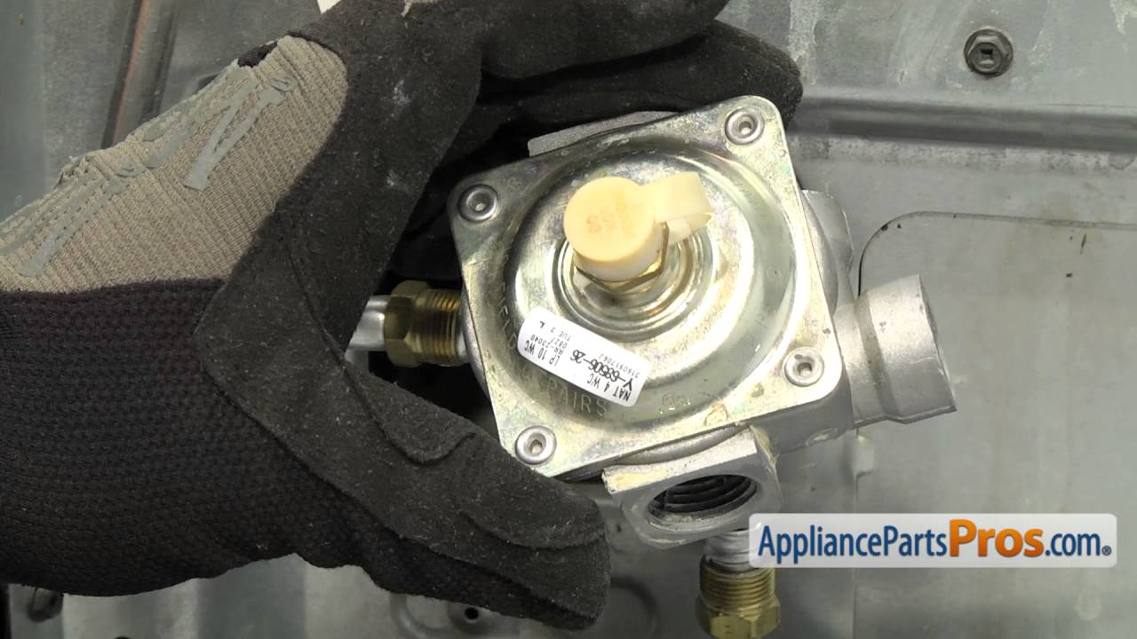 Range Gas Pressure Regulator (part #316091706) - How To Replace