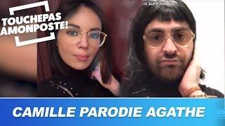 Camille Combal parodie Agathe Auproux sur Instagram