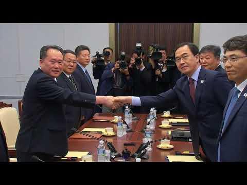 Koreas hold high level talks ahead of Trump Kim summit