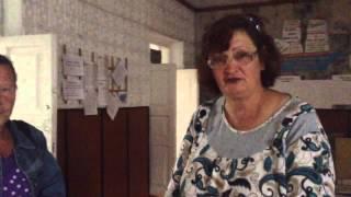 Как охранли пикет против закрытия сельских школ на Алтае
