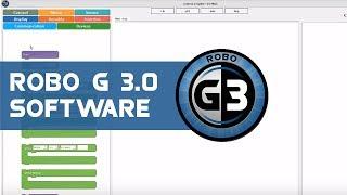 Robo G 3.0 is the desktop software designed to program E Series Ful...