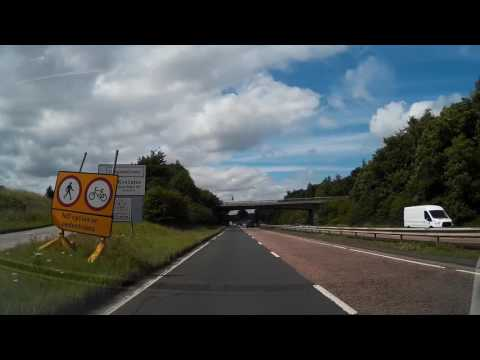 Drive From Edinburgh To South Queensferry Scotland